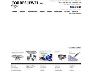 torresjewelco.com.au screenshot