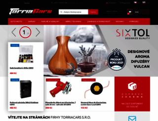 torriacars.cz screenshot
