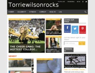 torriewilsonrocks.com screenshot