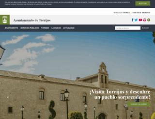 torrijos.es screenshot
