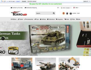 torro-shop.de screenshot