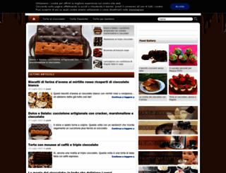 tortealcioccolato.com screenshot