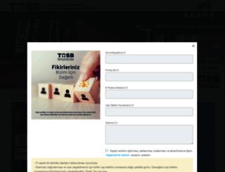 tosb.com.tr screenshot