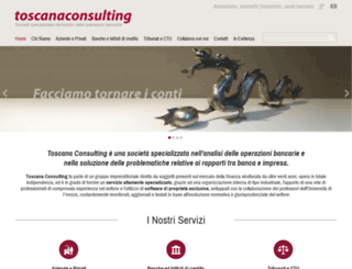 toscana-consulting.it screenshot