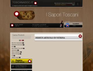 toscanadoc.it screenshot