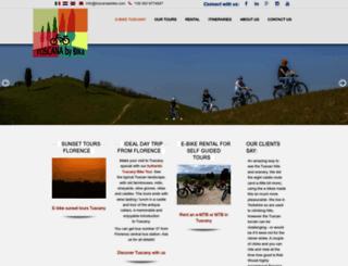 toscanaebike.com screenshot