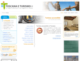 toscanaeturismo.net screenshot