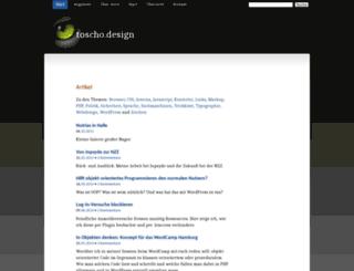 toscho.de screenshot
