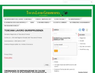 tosclavgiur.it screenshot