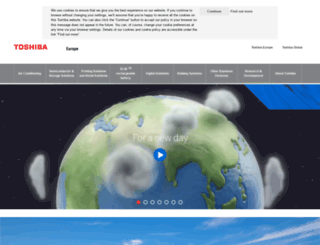 toshiba.co.uk screenshot