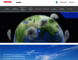 toshiba.de screenshot