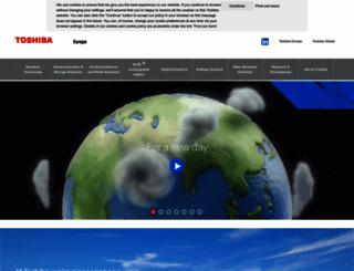 toshiba.eu screenshot