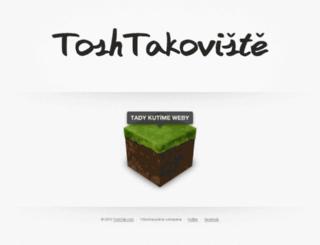 toshtakoviste.cz screenshot