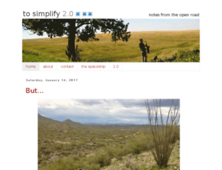 tosimplify.blogspot.com screenshot