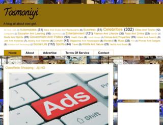 tosmoniyi.com screenshot
