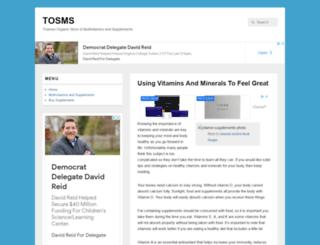 tosms.co.uk screenshot