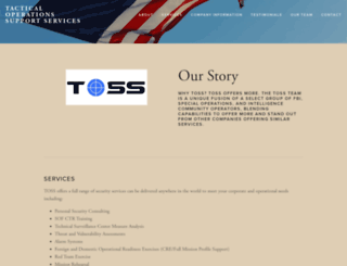 toss-llc.com screenshot
