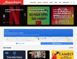 tosunkaya.com screenshot