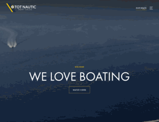 tot-nautic.com screenshot