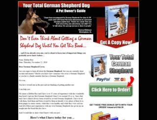 total-german-shepherd.net screenshot