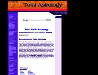 totalastrology.50webs.com screenshot