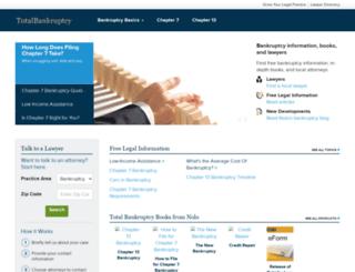 totalbankruptcy.com screenshot