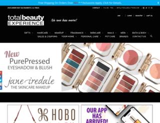 totalbeautyexp.com screenshot