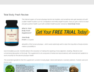 totalbodyfreshbuy.com screenshot