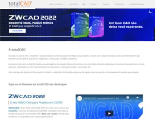 totalcad.com.br screenshot