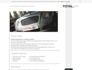 totalcarsbassano.com screenshot