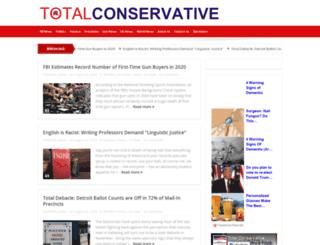 totalconservative.com screenshot