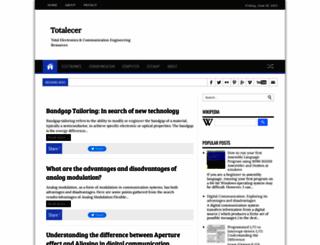 totalecer.blogspot.in screenshot