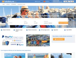 totaleisure.com screenshot