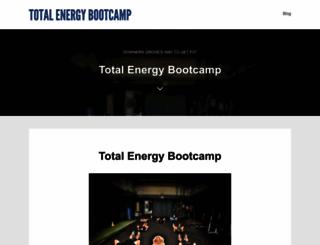 totalenergybootcamp.com screenshot