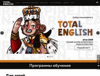totalenglish.ru screenshot