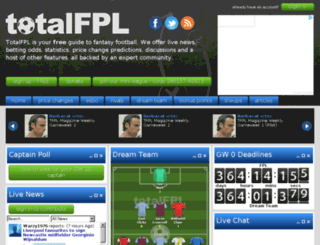 totalfpl.com screenshot