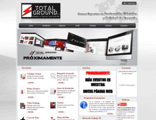 totalground.com screenshot