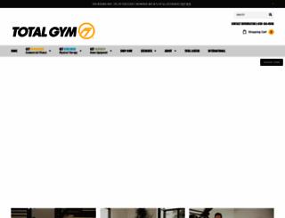 totalgym.com screenshot