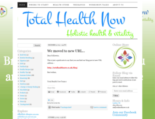 totalhealthnowltd.wordpress.com screenshot