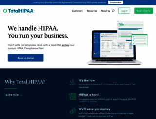 totalhipaa.com screenshot