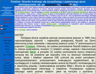 totalizm.pl screenshot