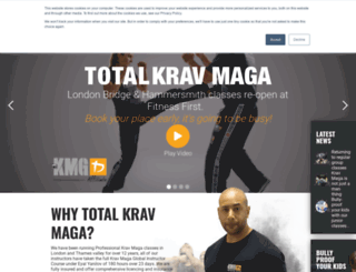 totalkravmaga.com screenshot