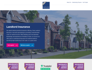 totallandlordinsurance.co.uk screenshot