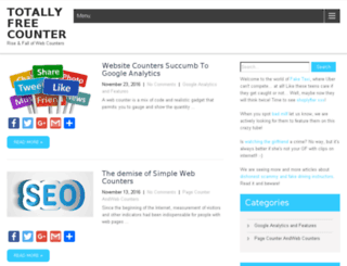 totallyfreecounter.com screenshot