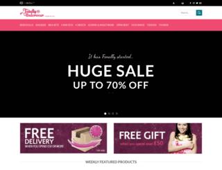 totallyunderwear.co.uk screenshot