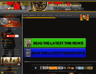 totalmortalkombat.com screenshot