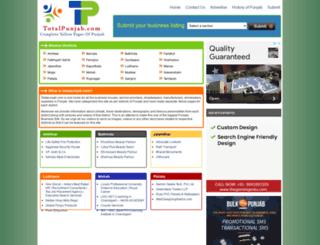 totalpunjab.com screenshot