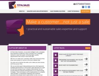 totalsalessolutions.co.uk screenshot