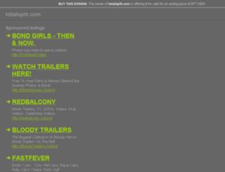 totalsplit.com screenshot