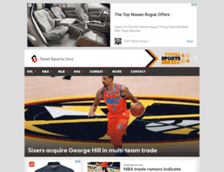 totalsportslive.com screenshot